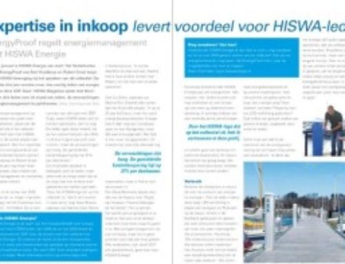 Publicatie EnergyProof in HISWA Magazine
