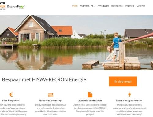 Collectieve inkoop van energie nu voor alle HISWA-RECRON-leden
